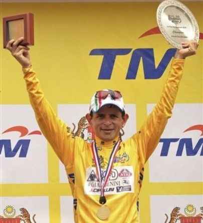 El venezolano José Rujano conquistó la Vuelta a Malasia.