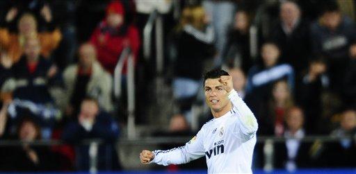 Cristiano Ronaldo marcó su primer triplete con el Madrid.