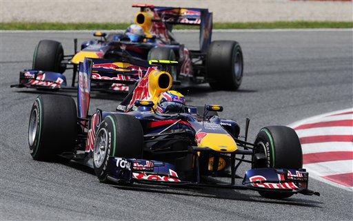 El australiano Mark Webber se adjudicó la victoria.