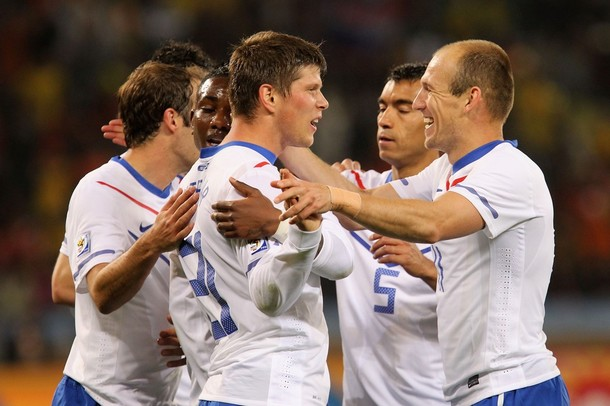 Los holandeses ganaron sus tres compromisos en la primera fase.