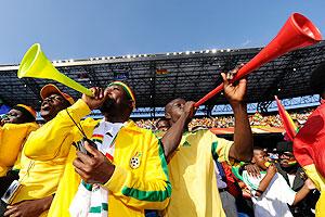 Las vuvuzelas han causado controversia.