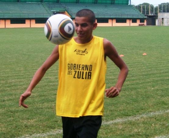 El volante juvenil Joel Infante marcó el tanto de la victoria del Zulia FC.