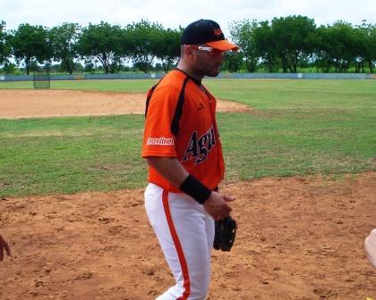 "Antonio ""Potro"" Álvarez se uniformó de aguilucho."