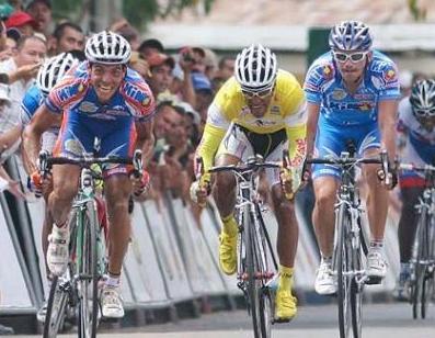 Honorio Machado triunfó en la cuarta etapa. Foto: El Universal.