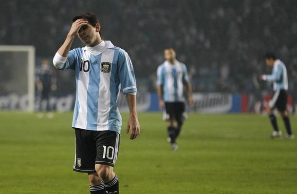 Lionel Messi tuvo un partido gris ante Bolivia.