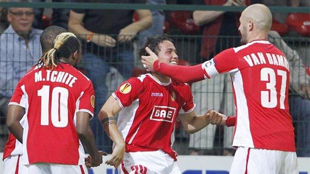 Luis Manuel Seijas volvió a celebrar en Bélgica.