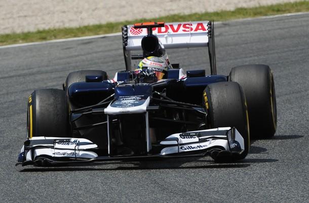 Pastor Maldonado consiguió su primer podio en la Fórmula Uno.