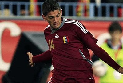 Rubert Quijada, ex Zulia FC, vuelve a la vinotinto.