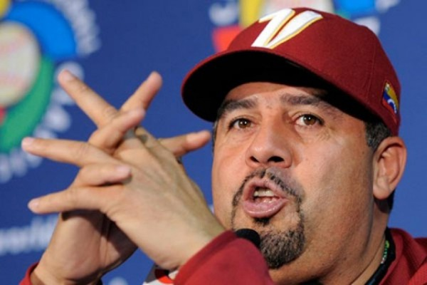 "Luis Sojo, mánager de Venezuela, aseguró que Chávez ""era un hombre de béisbol""."