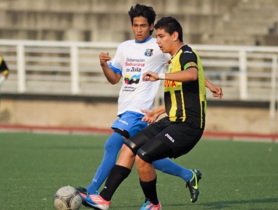 Alan Sierra, delantero de Zulia FC, no tuvo fortuna en San Cristóbal. Foto: Prensa Táchira.