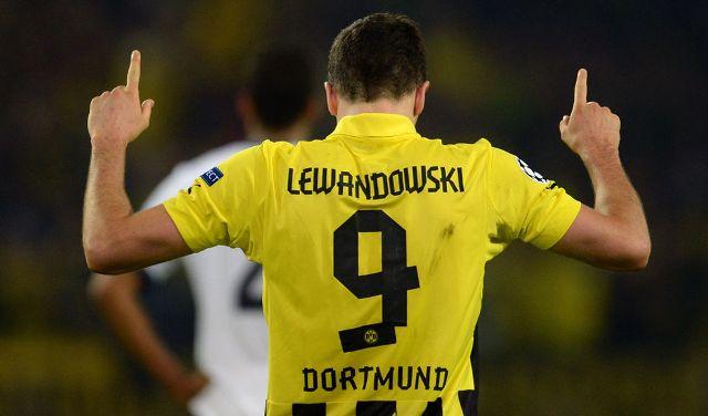 Robert Lewandowski destrozó al Real Madrid.