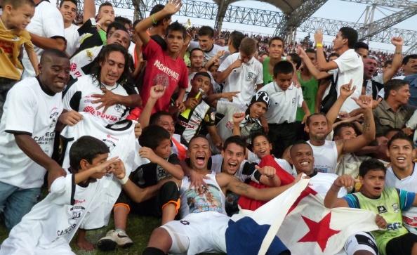 Zamora se tituló monarca del torneo Clausura en su casa. Foto: Prensa Zamora.