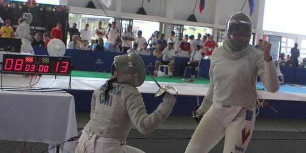 Alejandra Benítez se colgó la medalla de bronce en el Panamericano. Foto: Eduardo Méndez/La Verdad