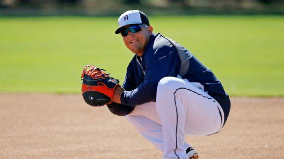 Miguel Cabrera estará de vuelta a la inicial este año. Foto: AP
