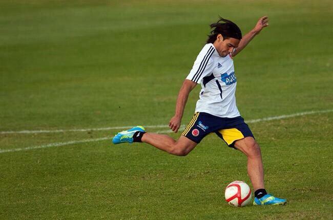 El delantero colombiano comenzó a entrenar diferenciado con sus compatriotas