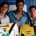 Arteaga y Hernández ya firmaron en Francia
