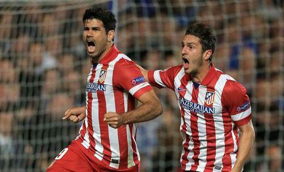 Diego Costa llevó al Atlético a Lisboa.