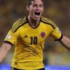 Colombia va de la mano de James