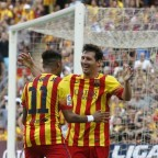 Neymar salvó al Barcelona (+video)