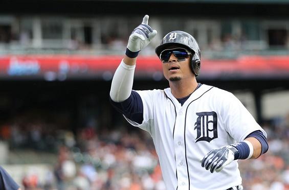 Víctor Martínez desea seguir celebrando en Detroit.