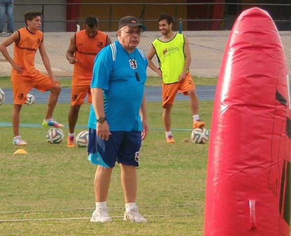 Carlos Horacio Moreno, DT del Zulia FC.