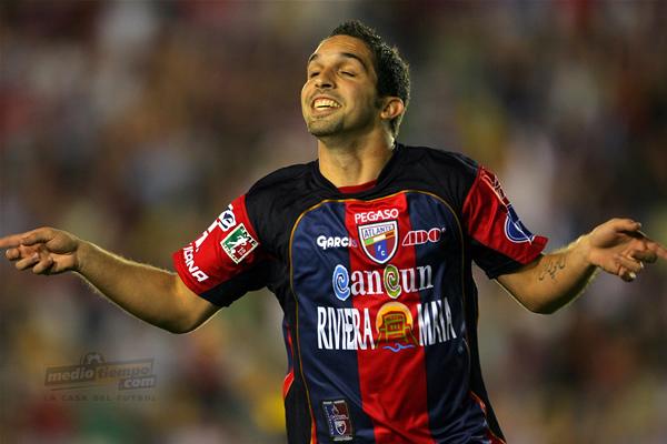 """Las celebraciones del """"Capo"""" podrían ir a la MLS. Foto: Archivo."""