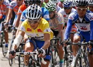 José Rujano, con la camiseta de la Gobernaciónd del Zulia, volvió con grandes triunfos.