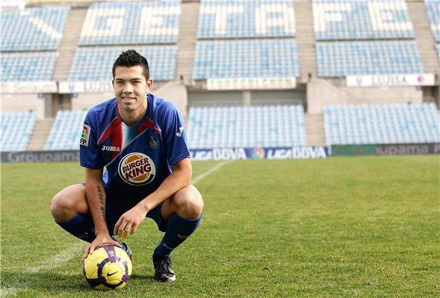 El gol de Miku en la ida resultó clave en la clasificación de su equipo. Foto: Cortesía.