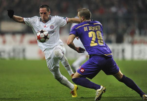 El francés Franck Ribery será clave para los alemanes.