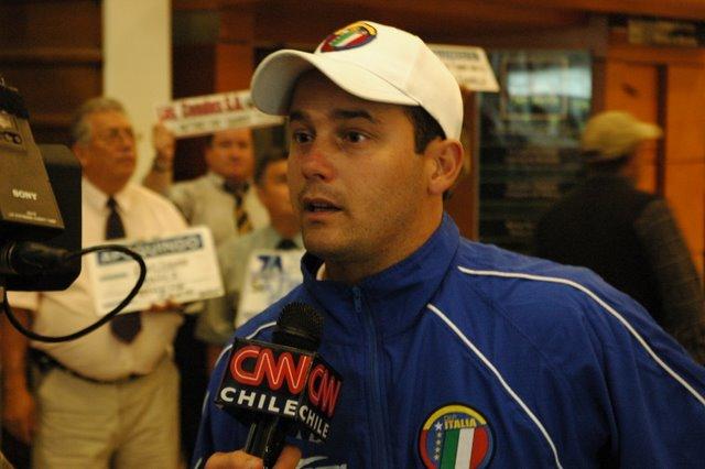 El joven técnico Eduardo Saragó espera trascender nuevamente en la capital.