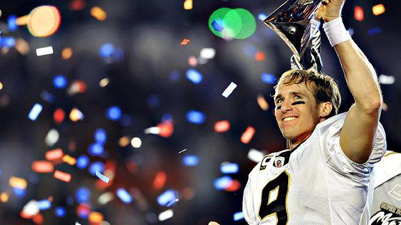 De la mano de Brees los Saints conquistaron el título de la NFL.