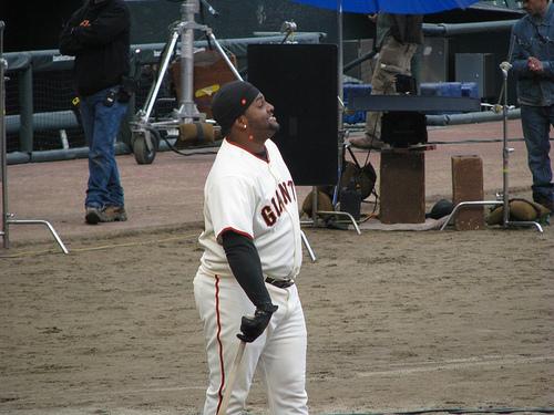 Pablo Sandoval sigue trabajando para controlar su peso.