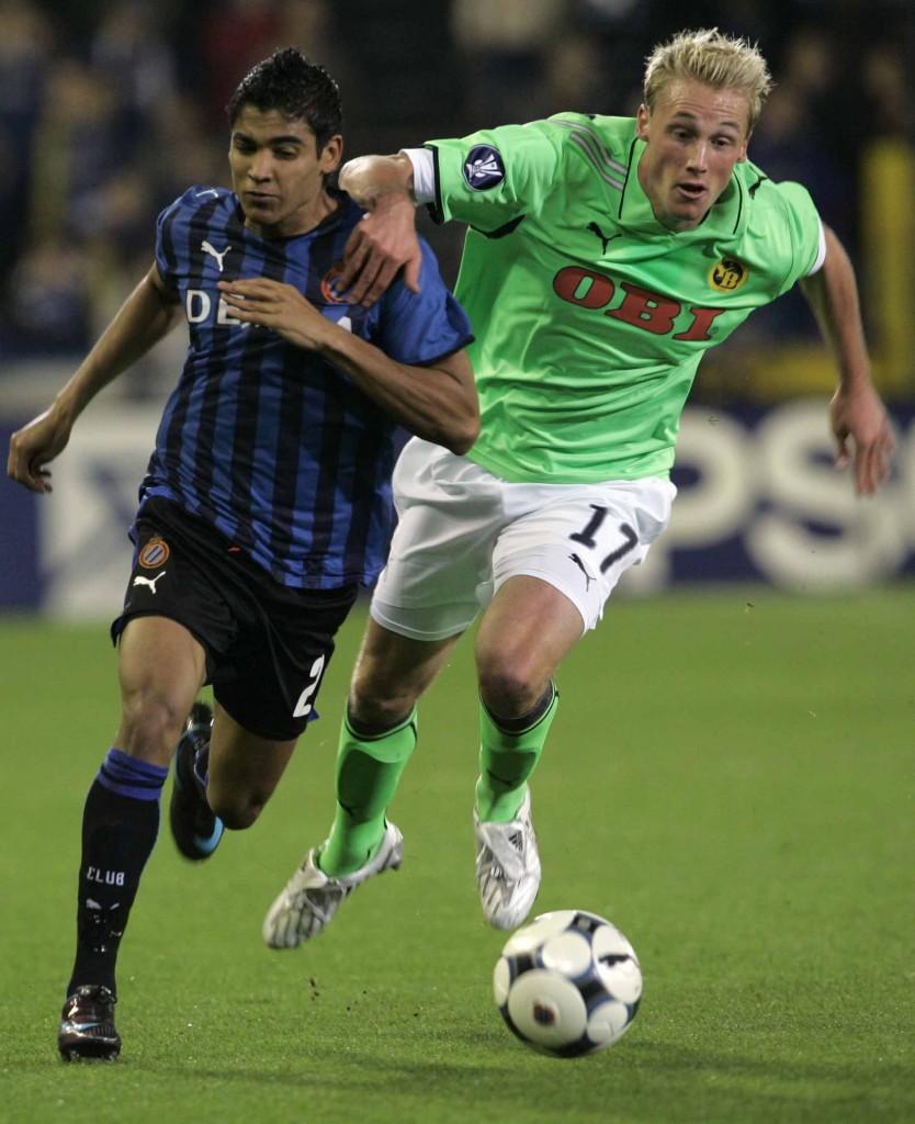Ronald Vargas regresó a la acción con el Brujas.
