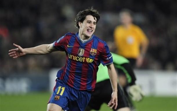 Bojan sentenció el triunfo del Barcelona.