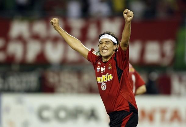 El ex Unión Darío Figueroa es vital para el accionar del rojo.