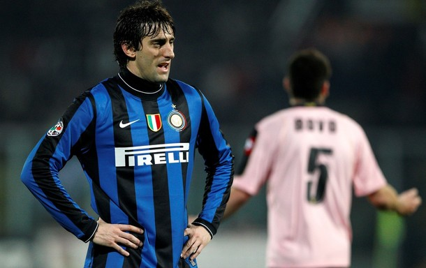 El argentino Diego Milito adelantó al Inter, pero no fue suficiente.