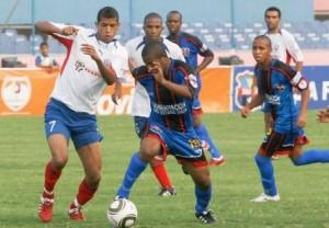 Fredys Arrieta marcó nuevamente para los zulianos.