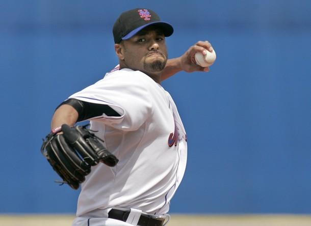 Johan Santana es el as de los Mets.
