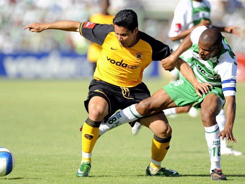 """El delantero José """"Buda"""" Torrealba no goza de mucha regularidad en Sudáfrica."""