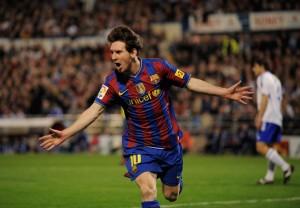 Lionel Messi está en otro nivel y marcó otro triplete.