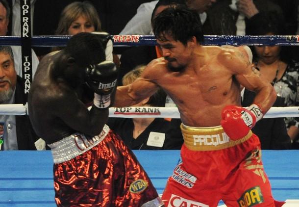 Manny Pacquiao venció sin problemas al ghanés.