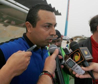 Miguel Acosta espera que el equipo zuliano siga sumando.