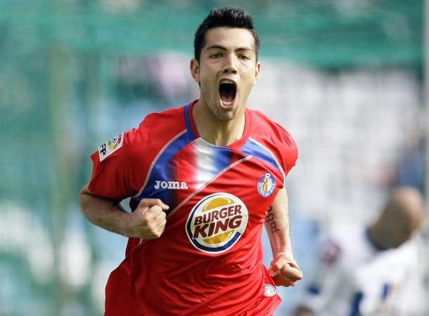 """Nicolás """"Miku"""" Fedor celebró sus goles con el Getafe."""
