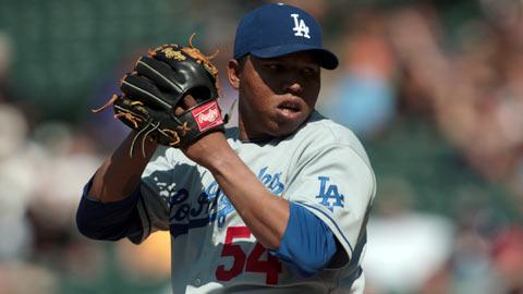 Ronald Belisario brilló el año pasado con los Dodgers.