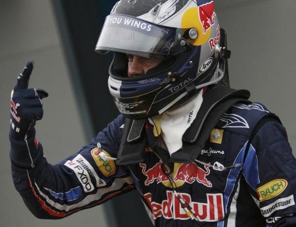 Sebastian Vettel estará en la primera fila de partida.
