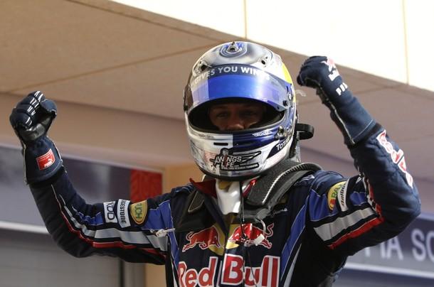 Sebastian Vettel largará delante de los dos corredores de Ferrari.