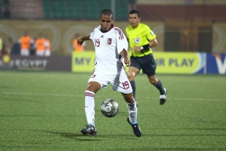 El juvenil Yoandry Orozco debutó con la selección mayor.