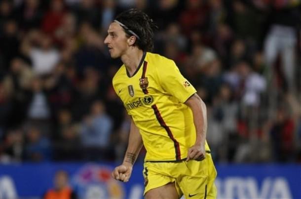 El sueco Zlatan Ibrahimovic resolvió para el cuadro catalán.