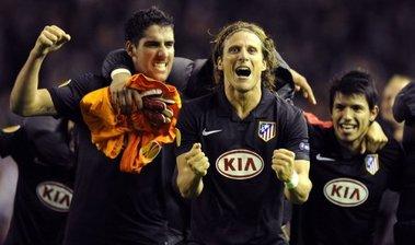 El Atlético de Madrid eliminó al Liverpool inglés.