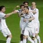 Bayern Munich goleó al Lyon y está en Madrid